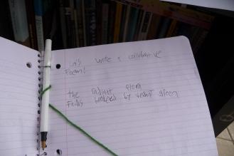 Let's write a collaborative poem!